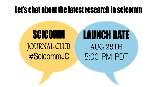 Science Communication Journal Club Launch Date