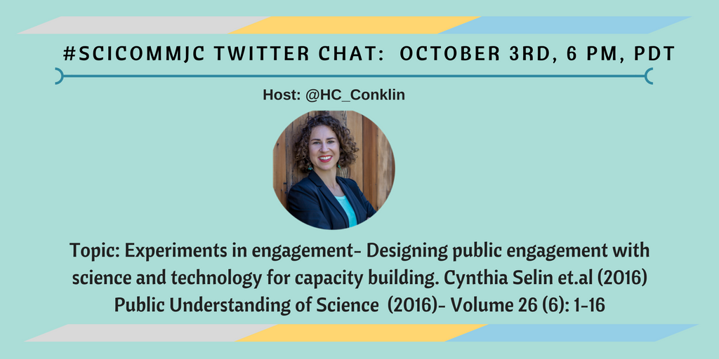 Science Communication Journal Club Twitter Chat