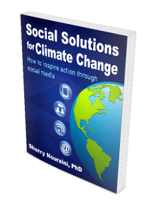 Cover of the Social Solutions for Climate Change book