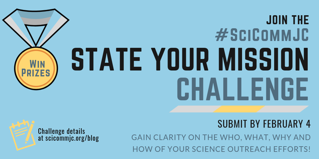 Poster for State Your Mission Challenge