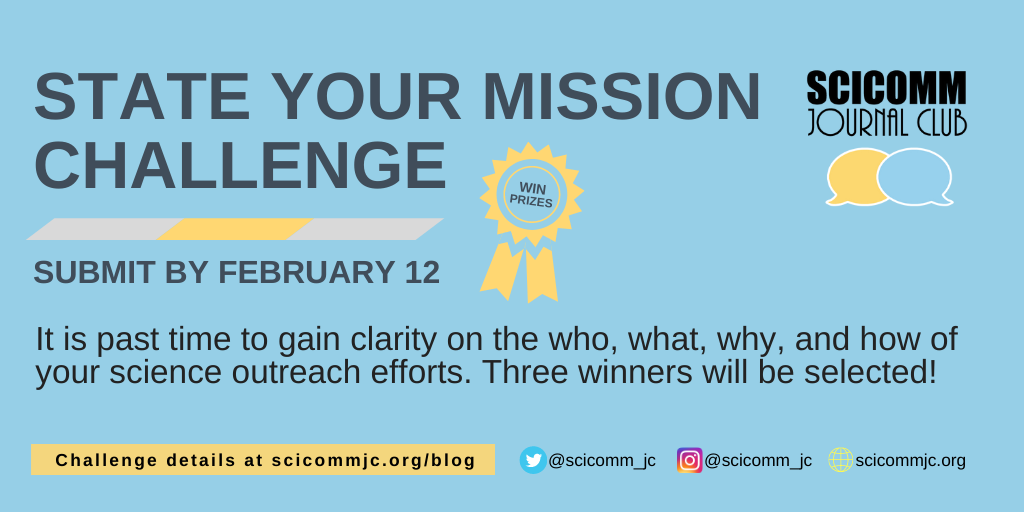 State your mission challenge poster
