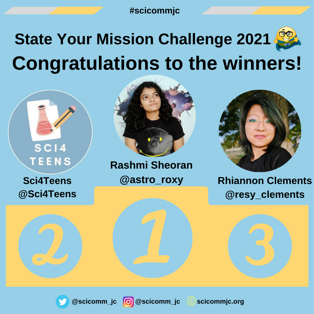 State Your Mission Challenge 2021 Winners